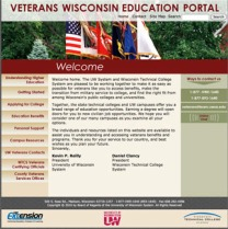 Web portal for veterans